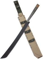 Condor- Yoshimi Black Finish Machete W/19.13